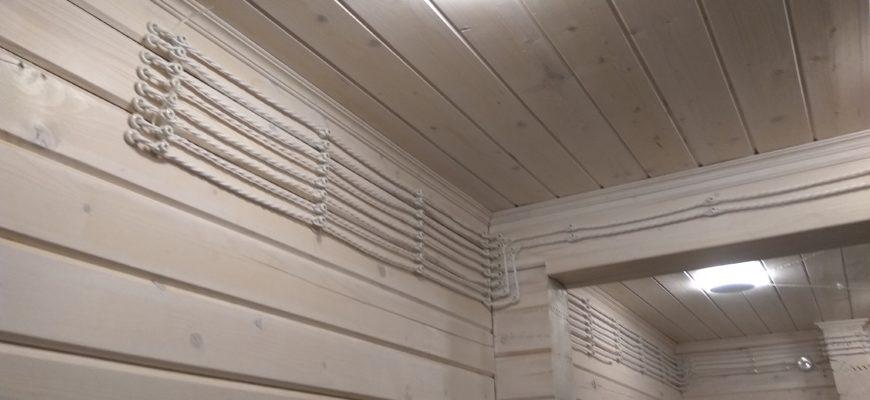 Деревянный дом в клубном посёлке Ривер Клаб г. Конаково